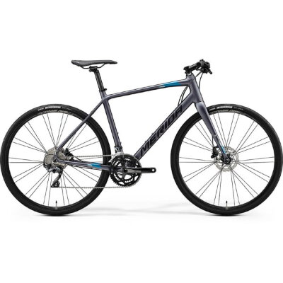 Велосипед Merida Speeder 500 MattAntracite/Black/Blue 2020